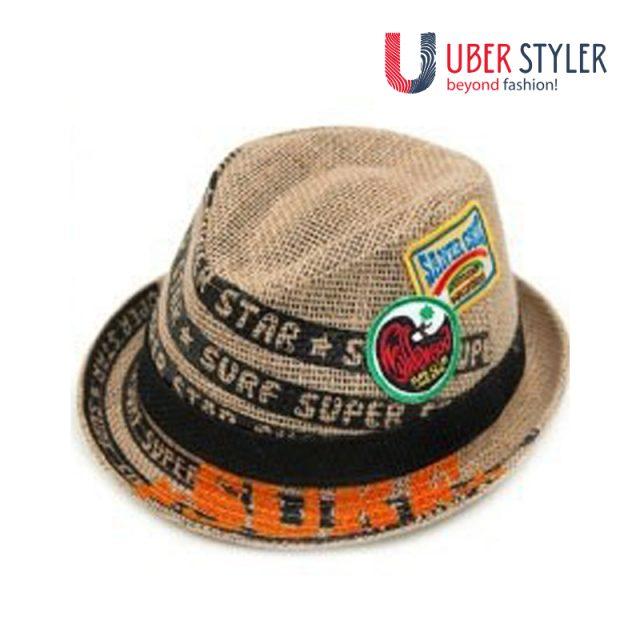 Children`s Sun Protection Linen Hat
