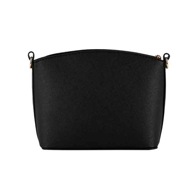 Solid Color Hard Crossbody Bag