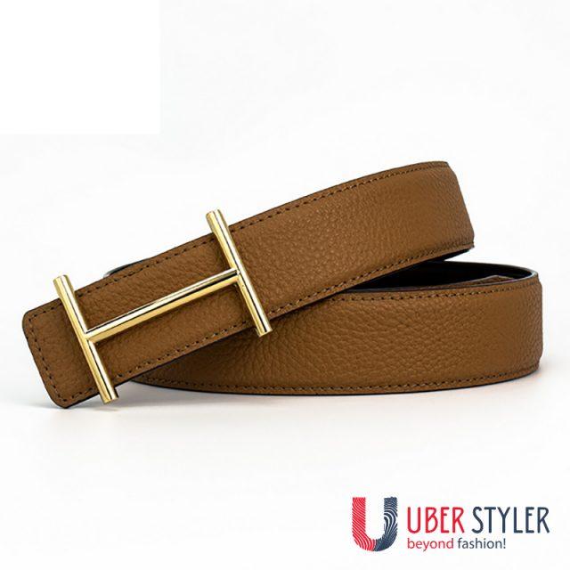 Vintage Luxury Leather Belt