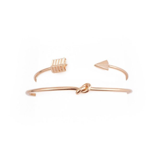 Fashion Open Cuff Bangles Set