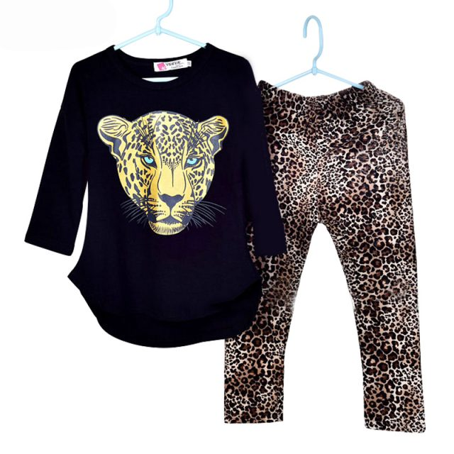 Girls Party wear/Leopard Print Summer 2018