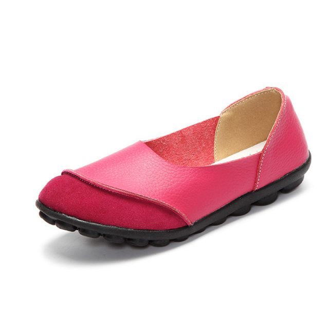 Women Genuine leather Moccasin/ Ballerines/Slip ons