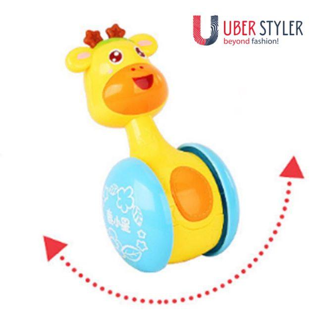Cartoon Giraffe Tumbler Toy