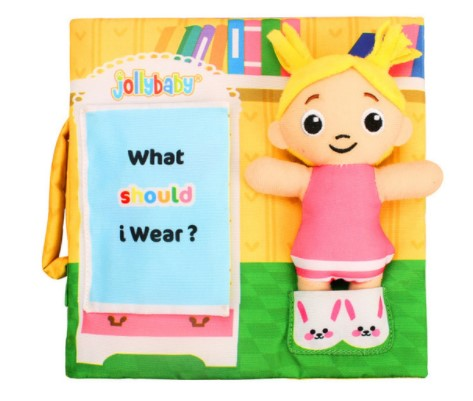 Early Development Soft Book with Plush Doll