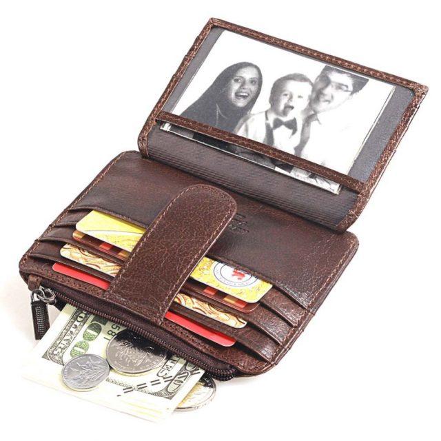 Men's Genuine Leather Credit Cardholder