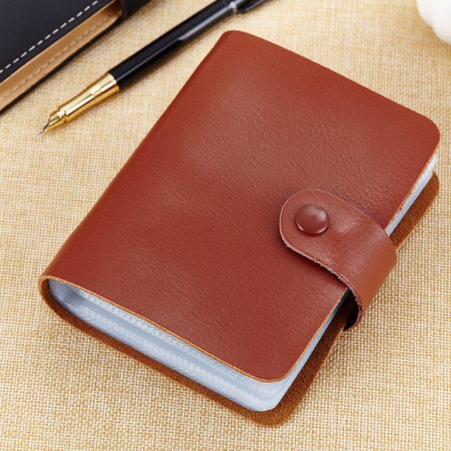 Unisex Leather Cardholder