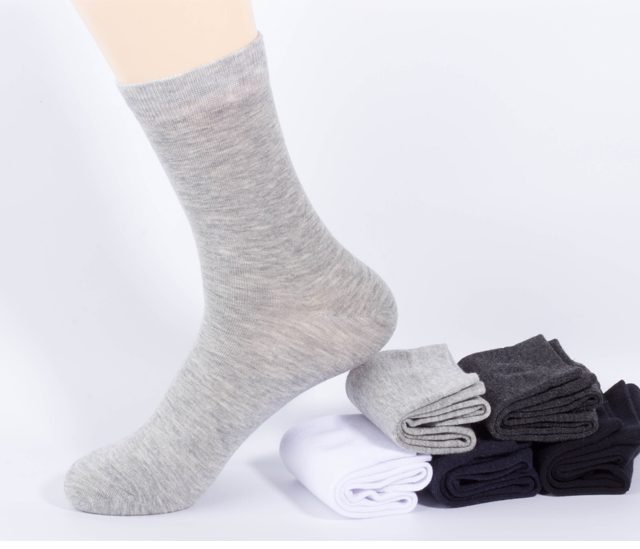 Men's Cotton Long Business Socks