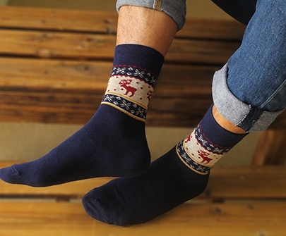 Men's Cotton Hip Hop Skateboarding Socks