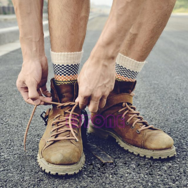Men's Soft Thick Cotton Socks