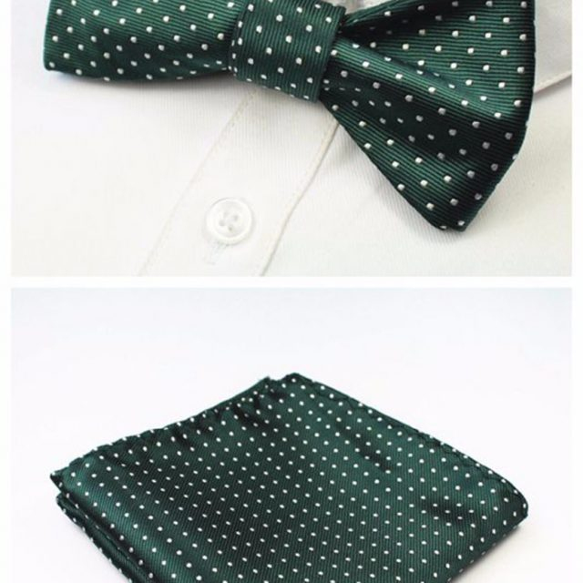 Men's Silk Bow Tie