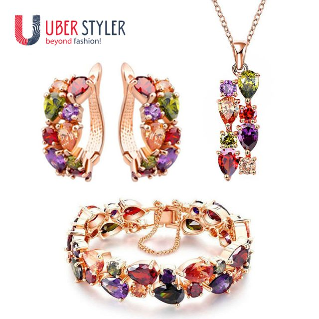 Colourful Jewelry Set for Women