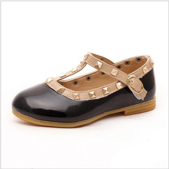 Fashion Girl's Leather Shoes