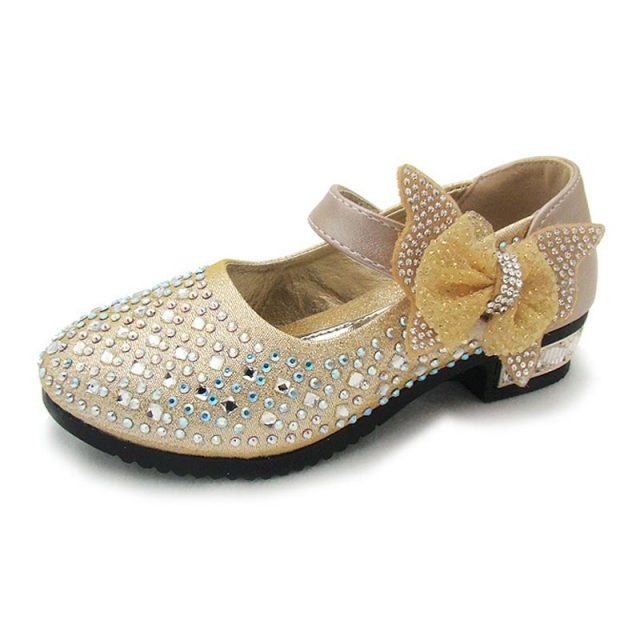 Girl's Princess Sandals With Bow-Knots